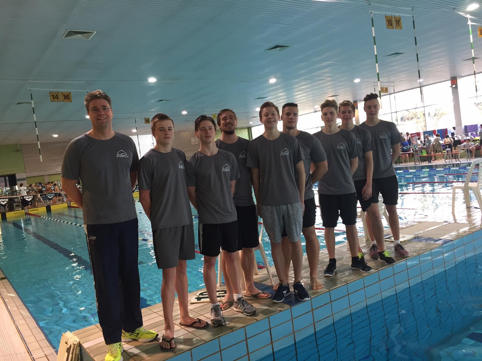 Delphin Team: Bayernliga 2017