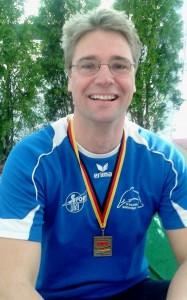 Christian Frick gewinnt Deutschen Meistertitel in der AK 40 über 200m Brust