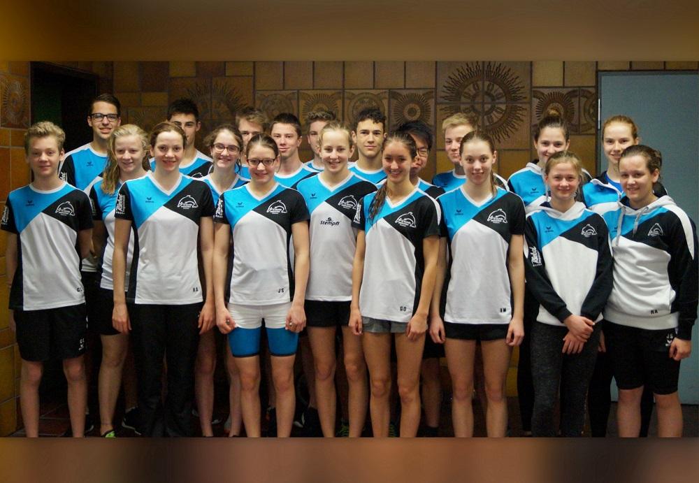 Delphin-Team in Bayreuth