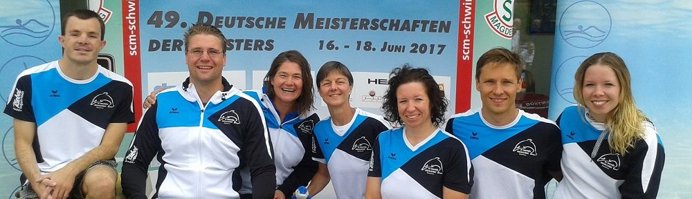 Masters-Team des SC Delphin Ingolstadt
