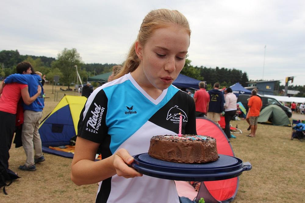 Geburtstagskind Anna Siebler