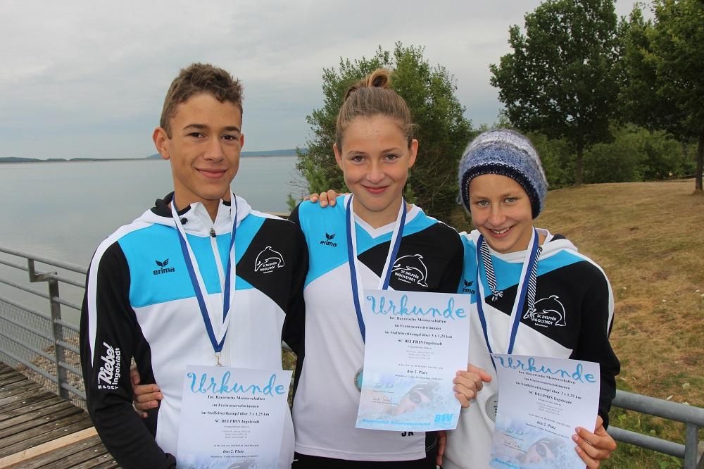 Mixed-Staffel: Hollweck J., Kuhls J., Iberle J.