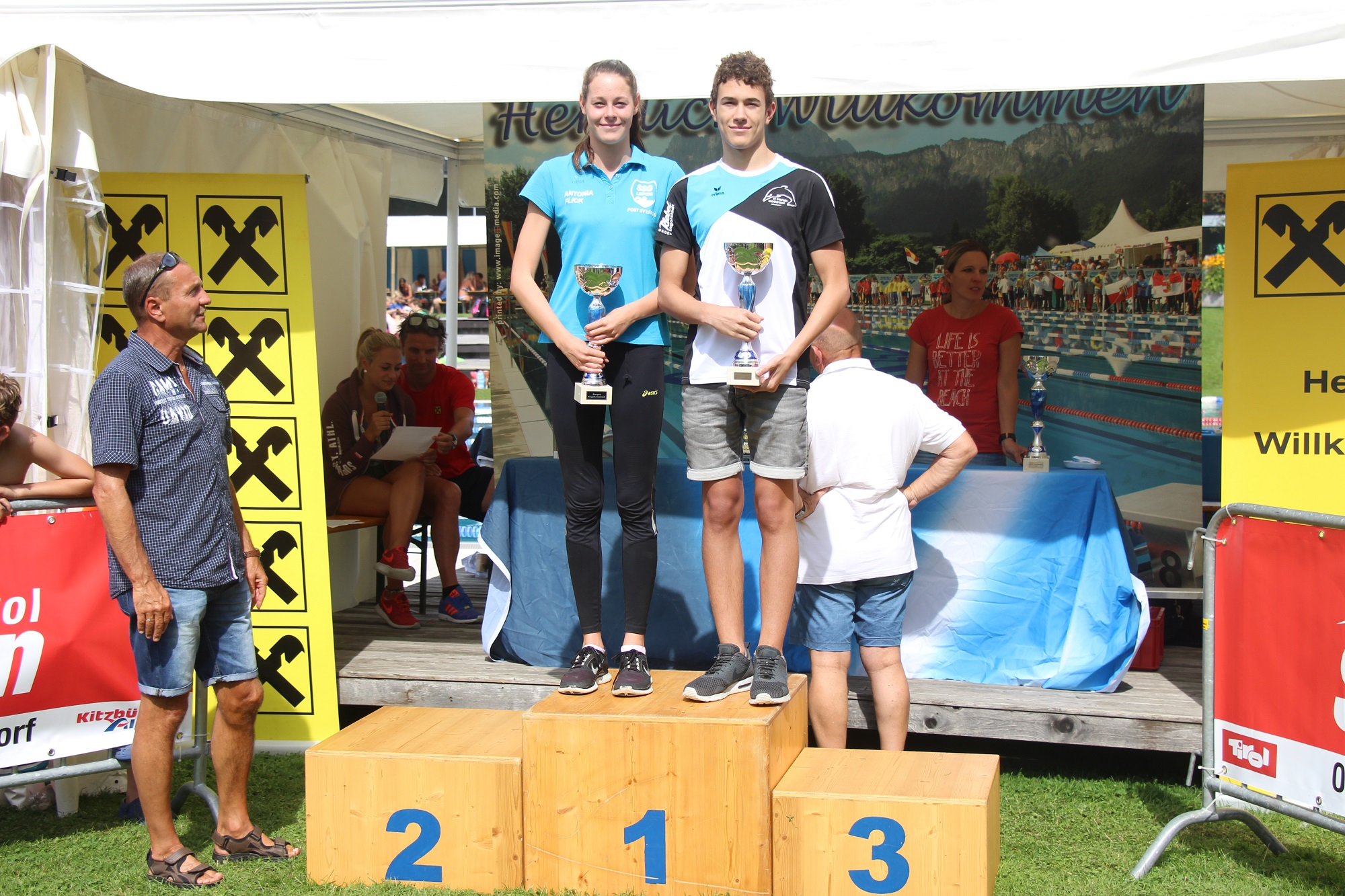 Überlegener Sieger im Vierkampf: Joshua Hollweck