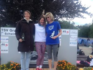 5 Siegerin über 200 Brust Yvonne Ewert