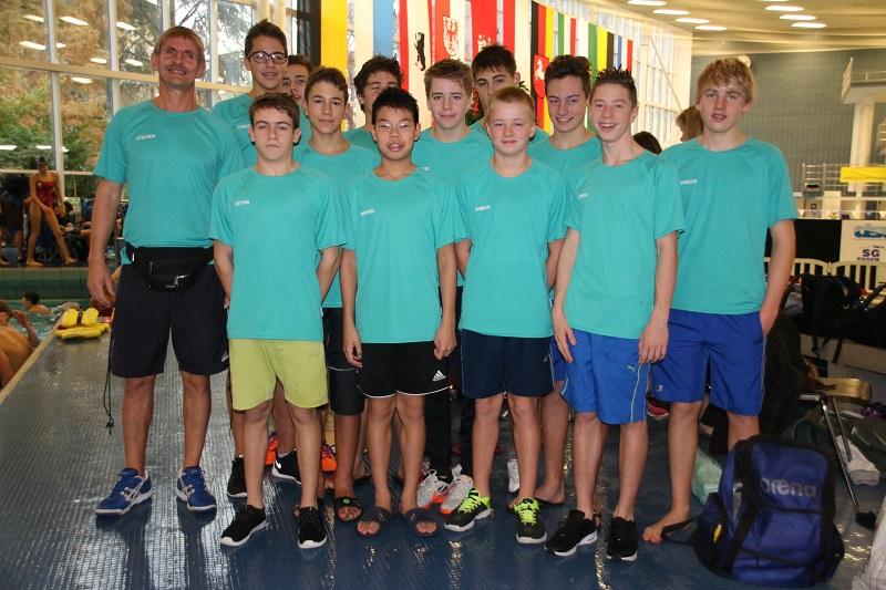 Delphin-Team beim Bundesfinale in Essen 2014